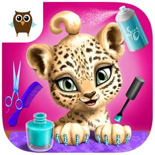 Jungle Animal Hair Salon! Hack