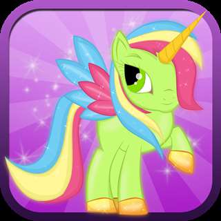 Little Magic Unicorn Dash: My Pretty Pony Princess vs Shark Tornado Attack Game - FREE for all! Online Generator