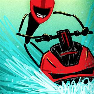 Hacks Online Stickman Wave Racer Free Game - Multiplayer Racing Jet Ski Ride