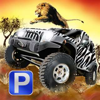 3D Safari Parking Free - Realistic Lion, Rhino, Elephant, and Zebra Adventure Simulator Games Unlimited Generator