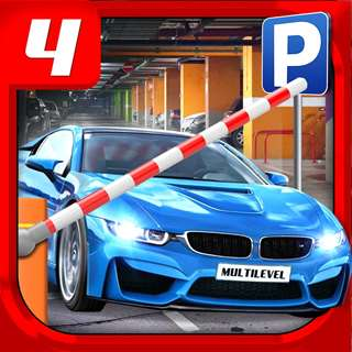 Multi Level 4 Car Parking Simulator a Real Driving Test Run Racing Games Hack Online