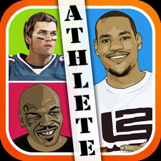 Athlete Pop Quiz Trivia - a game to guess what's real hero player in football, basketball, and more sports Unlimited Everything