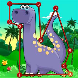 Dinosaur Dots Connect for kids Hack Generator