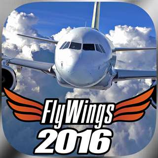 Flight Simulator FlyWings Online 2016 HD Hack Online