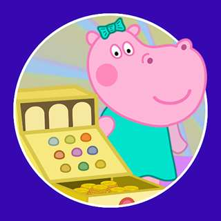 Hack Online Funny Shop: Hippo shopping