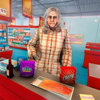 Happy Granny Shopping market Hack Online