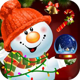Design and Build My Frozen Snowman Christmas Creation Game - Free App Unlimited Everything