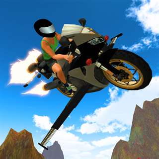 Flying Motorcycle Racing Simulator Cheats