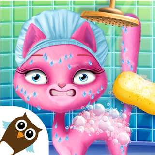 Cat Hair Salon Birthday Party Online Generator